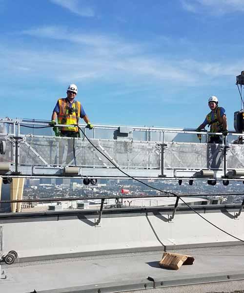 Suspended Platforms Slide
